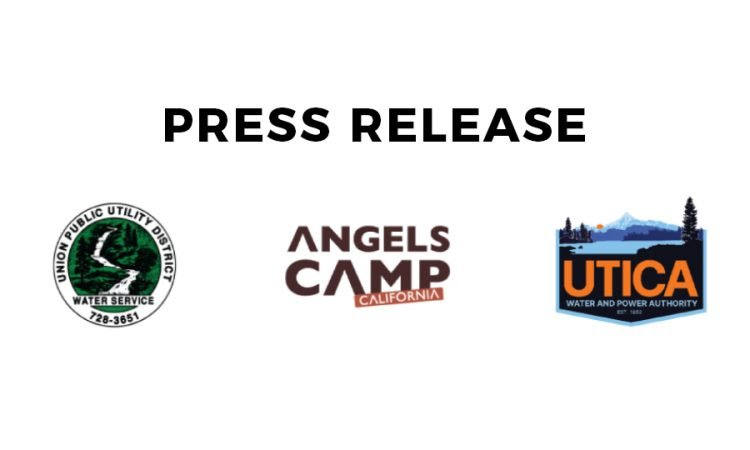 Angels Camp, UPUD and Utica Receive nearly $600,000 in Grant Funding
